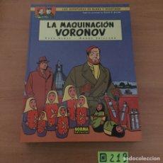 Cómics: BLAKE & MORTIMER LA MAQUINACION VORONOV. Lote 234136140