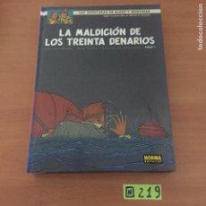 Cómics: BLAKE Y MORTIMER . LA MALDICIÓN DE LOS TREINTA DENARIOS (TOMO 1). Lote 234136455