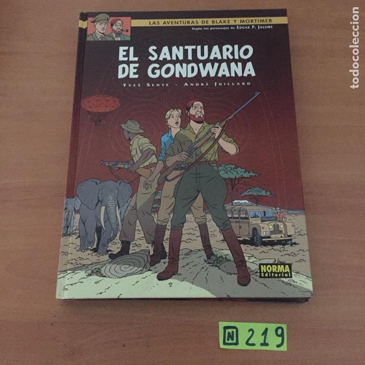 BLAKE Y MORTIMER EL SANTUARIO DE GONDWANA (Tebeos y Comics - Norma - Otros)