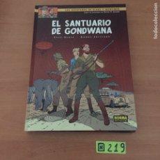 Cómics: BLAKE Y MORTIMER EL SANTUARIO DE GONDWANA. Lote 234136735