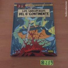 Cómics: BLAKE Y MORTIMER . LOS SARCÓFAGOS DEL 6º CONTINENTE. Lote 234137000