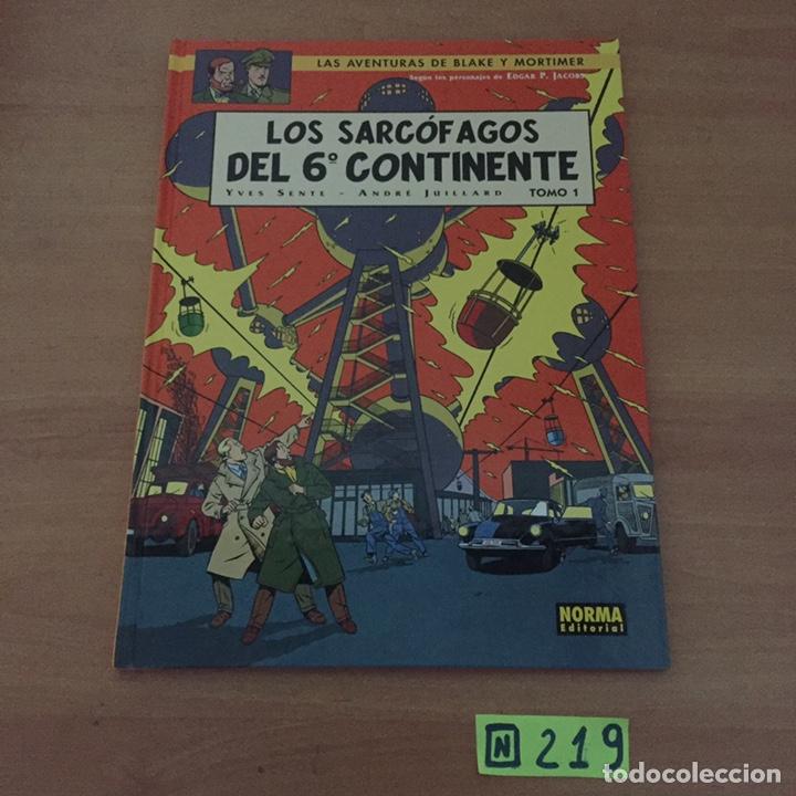BLAKE Y MORTIMER LOS SARCÓFAGOS DEL 6º CONTINENTE (Tebeos y Comics - Norma - Otros)