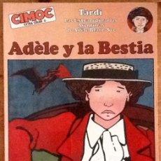 Cómics: ADÈLE Y LA BESTIA : JACQUES TARDI (CIMOC EXTRA COLOR Nº 0 - NORMA EDITORIAL - 1982). Lote 234171115