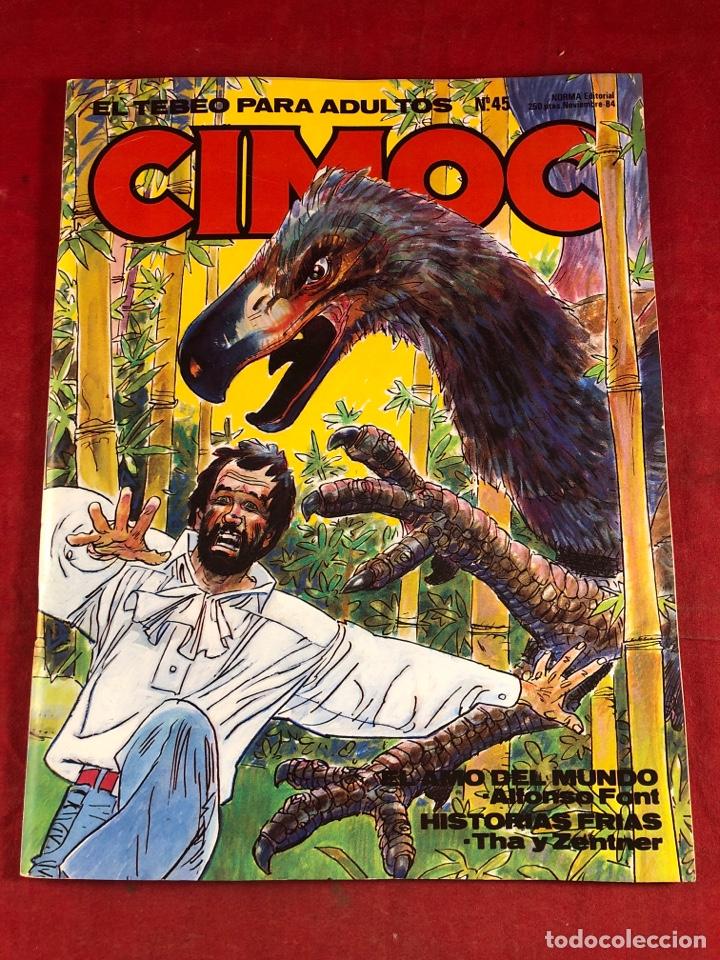 CIMOC NÚM 45 (Tebeos y Comics - Norma - Cimoc)