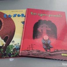 Cómics: X LOS MUNDOS INTERMEDIOS 1 (LAZARR) Y 2 (LAS AGUAS PESADAS), DE MANU LARCENET (NORMA). Lote 234490940