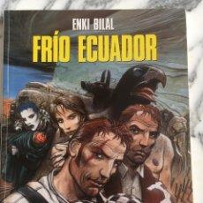 Cómics: COMIC: ENKI BILAL, FRÍO ECUADOR. TAPA BLANDA. CIMOC EXTRA COLOR Nº 100. Lote 234499080