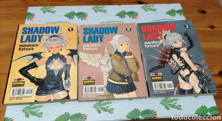 Cómics: SHADOW LADY COMPLETA. 3 NUMEROS.MASAKAZU KATSURA.NORMA EDITORIAL - Foto 3 - 234532565