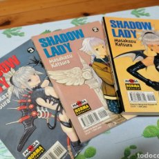 Cómics: SHADOW LADY COMPLETA. 3 NUMEROS.MASAKAZU KATSURA.NORMA EDITORIAL. Lote 234532565