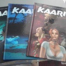 Cómics: X KAARIB 1 A 3 (COMPLETA), DE CALVO Y KRASSINSKY (NORMA). Lote 234686050