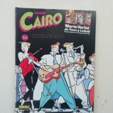 Cómics: CAIRO. Lote 234693975