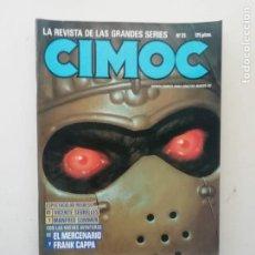Cómics: CIMOC. Lote 234700365