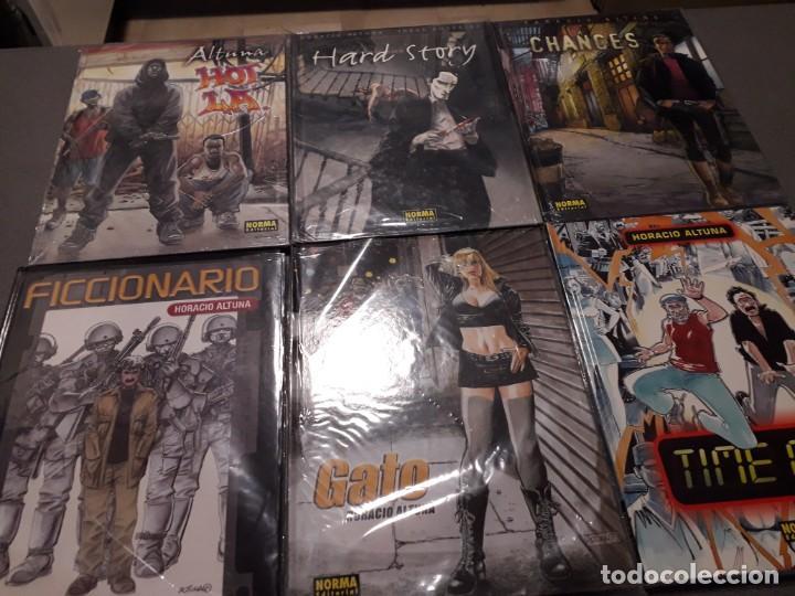 Cómics: Colección Horacio Altuna 6 (Albumes Norma Editorial) y Colección Trillo/Altuna 4 Albumes Planeta) - Foto 2 - 234900215