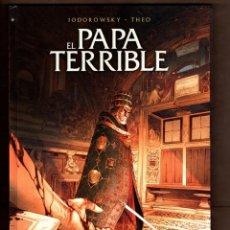 Cómics: EL PAPA TERRIBLE - NORMA / EDICIÓN INTEGRAL / JODOROWSKY & THEO / NUEVO DE EDITORIAL. Lote 267837714