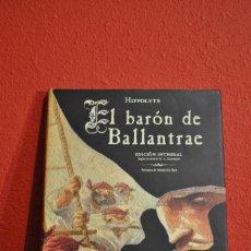 Cómics: EL BARÓN DE BALLANTRAE DE HIPPOLYTE. EDICIÓN INTEGRAL EN TAPA DURA. EDITORIAL NORMA. Lote 235144270