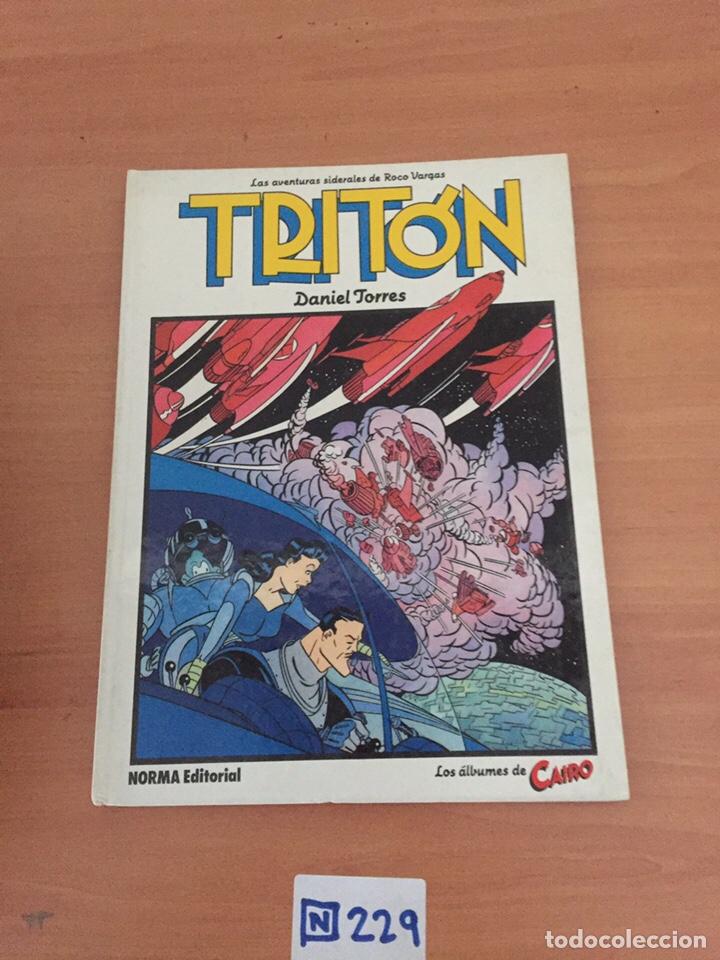 ROCO VARGAS. TRITÓN, DE DANIEL TORRES (Tebeos y Comics - Norma - Cairo)