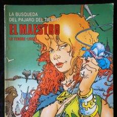 Cómics: CIMOC - EL MAESTRO. Lote 235347210