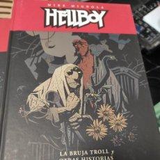 Cómics: HELLBOY #10: LA BRUJA TROLL Y OTRAS HISTORIAS / ED. CARTONÉ (DARK HORSE / NORMA). Lote 235490050