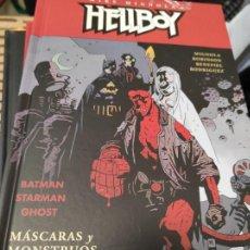 Cómics: HELLBOY 14: MÁSCARAS Y MONSTRUOS (ED. CARTONÉ). Lote 235490215