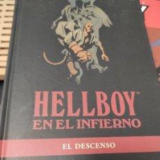 Cómics: HELLBOY EN EL INFIERNO 1 EL DESCENSO - MIGNOLA,MIKE. Lote 235490400