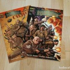 Cómics: LAS AVENTURAS DE LA BRIGADA DE FUSILEROS 1 Y 2 - NORMA EDITORIAL / VÉRTIGO, DC COMICS, 2001. Lote 235525575
