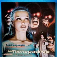 Cómics: LOS TECNOPADRES VOL. 7 - EL JUEGO PERFECTO (JODOROWSKY) NORMA 2006 ''EXCELENTE ESTADO''. Lote 235527425