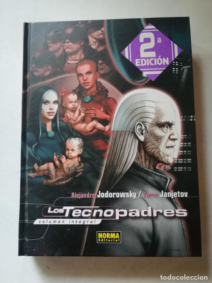 LOS TECNOPADRES INTEGRAL . ALEJANDRO JODOROWSKY-ZORAN JANJETOV. (Tebeos y Comics - Norma - Comic Europeo)