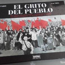 Cómics: X EL GRITO DEL PUEBLO, DE TARDI Y VAUTRIN (NORMA). Lote 235672605