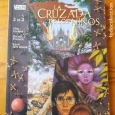 Cómics: LA CRUZADA DE LOS NIÑOS TOMO 2. NEIL GAIMAN- VERTIGO NORMA EDITORIAL.. Lote 235791935