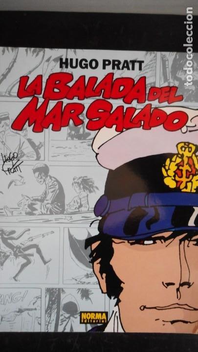 LA BALADA DEL MAR SALADO. HUGO PRATT (Tebeos y Comics - Norma - Otros)