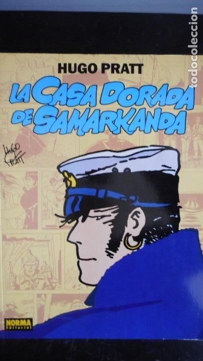 LA CASA DORADA DE SAMARKANDA. HUGO PRATT (Tebeos y Comics - Norma - Otros)