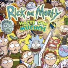 Cómics: RICK Y MORTY HAZTE CON MUCHOS - NUEVO. Lote 235808565
