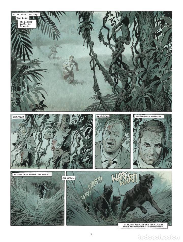 Cómics: Còmics. ZAROFF - Sylvain Runberg / François Miville-Deschênes (Cartoné) - Foto 2 - 235839155