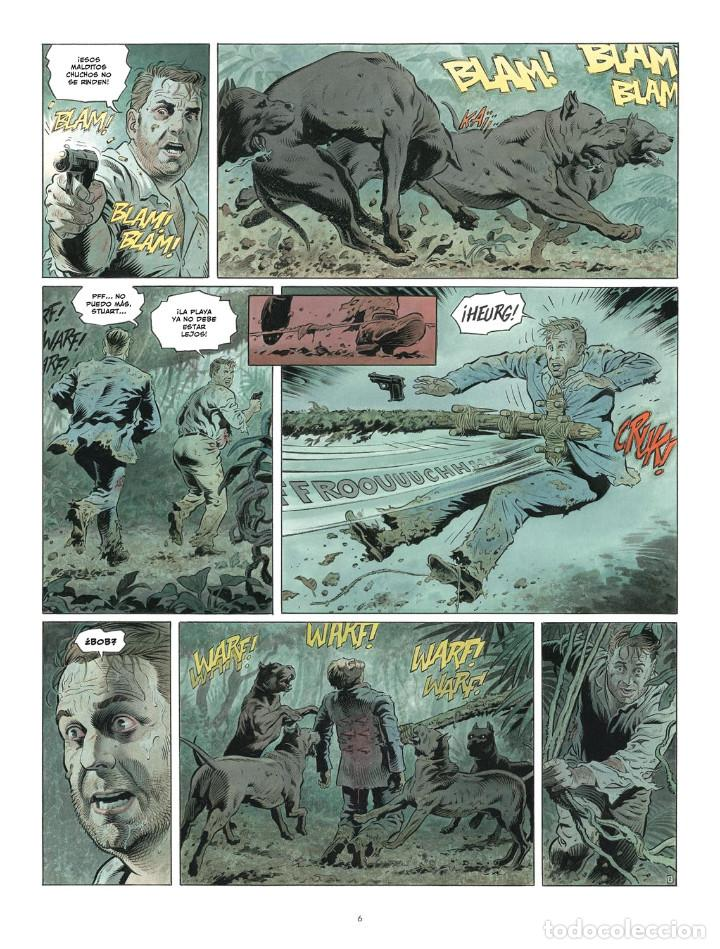 Cómics: Còmics. ZAROFF - Sylvain Runberg / François Miville-Deschênes (Cartoné) - Foto 3 - 235839155