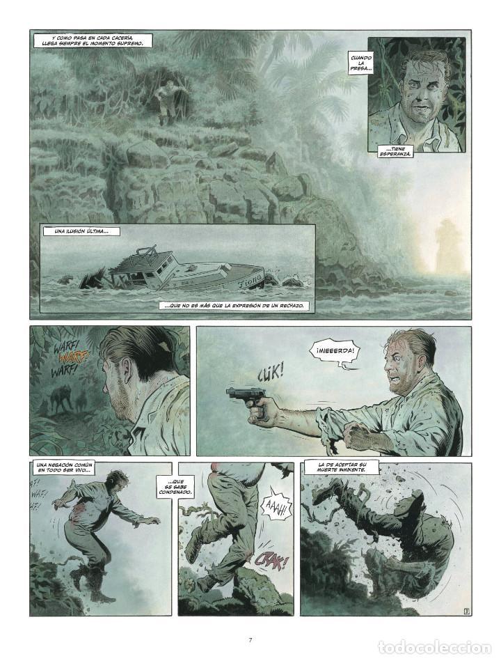 Cómics: Còmics. ZAROFF - Sylvain Runberg / François Miville-Deschênes (Cartoné) - Foto 4 - 235839155