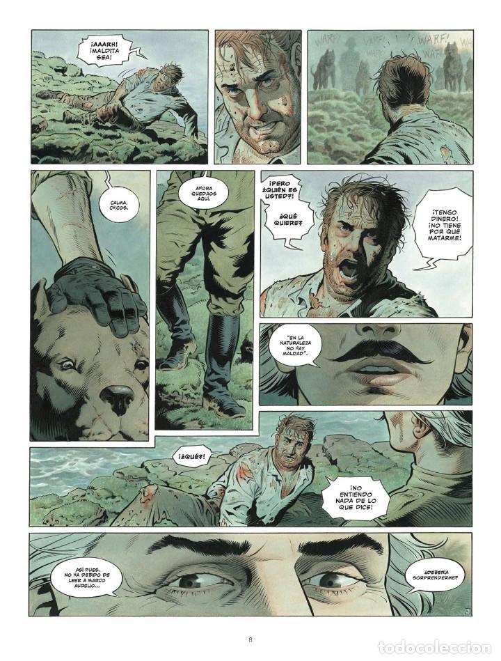 Cómics: Còmics. ZAROFF - Sylvain Runberg / François Miville-Deschênes (Cartoné) - Foto 5 - 235839155