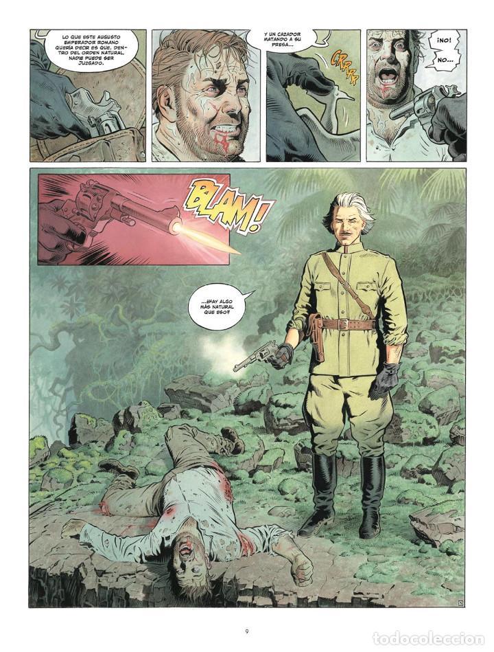 Cómics: Còmics. ZAROFF - Sylvain Runberg / François Miville-Deschênes (Cartoné) - Foto 6 - 235839155