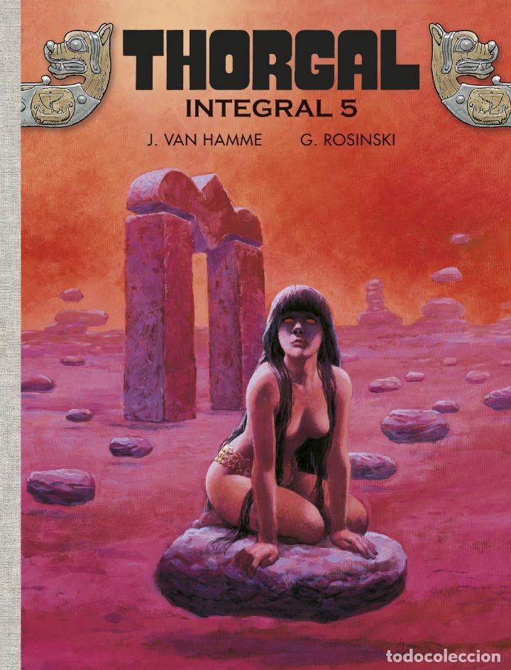 CÒMICS. THORGAL. INTEGRAL 5 - GRZEGORZ ROSINSKI / JEAN VAN HAMME (CARTONÉ) (Tebeos y Comics - Norma - Comic Europeo)