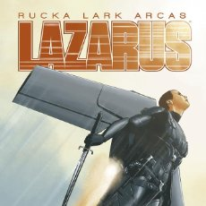 Cómics: CÒMICS. LAZARUS 6. FRACTURA I - GREG RUCKA / MICHAEL LARK / SANTIAGO ARCAS. Lote 235895040