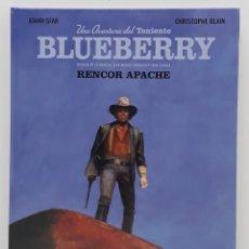 Cómics: BLUEBERRY, RENCOR APACHE, JOANN SFAR - CHRISTOPHE - BLAIN (NORMA). Lote 236244165