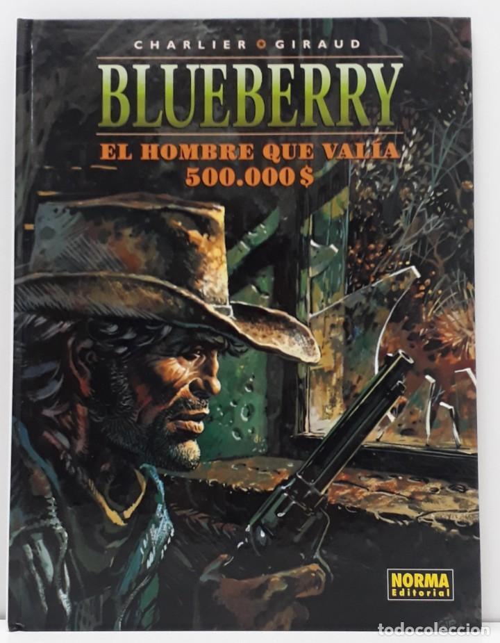 BLUEBERRY, CHARLIER -GIRAUD, EL HOMBRE QUE VALIA 500.000 $ Nº 8 (NORMA) (Tebeos y Comics - Norma - Comic Europeo)