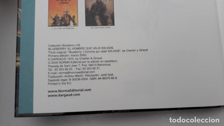 Cómics: BLUEBERRY, CHARLIER -GIRAUD, EL HOMBRE QUE VALIA 500.000 $ Nº 8 (NORMA) - Foto 2 - 236246605