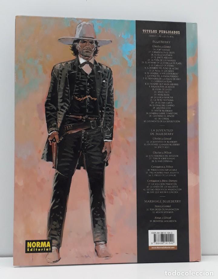 Cómics: BLUEBERRY, CHARLIER -GIRAUD, EL HOMBRE QUE VALIA 500.000 $ Nº 8 (NORMA) - Foto 5 - 236246605