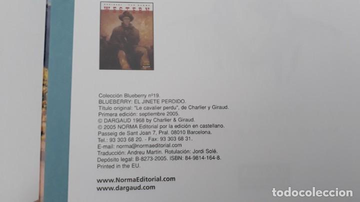 Cómics: BLUEBERRY, CHARLIER -GIRAUD, EL JINETE PERDIDO Nº 19 (NORMA) - Foto 2 - 236248375