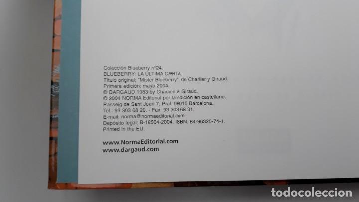 Cómics: BLUEBERRY, CHARLIER -GIRAUD, LA ÚLTIMA CARTA Nº 24 (NORMA) - Foto 2 - 236249225