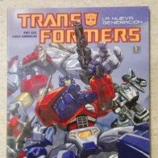 Cómics: TRANSFORMERS. LA NUEVA GENERACIÓN Nº 1. Lote 236258345