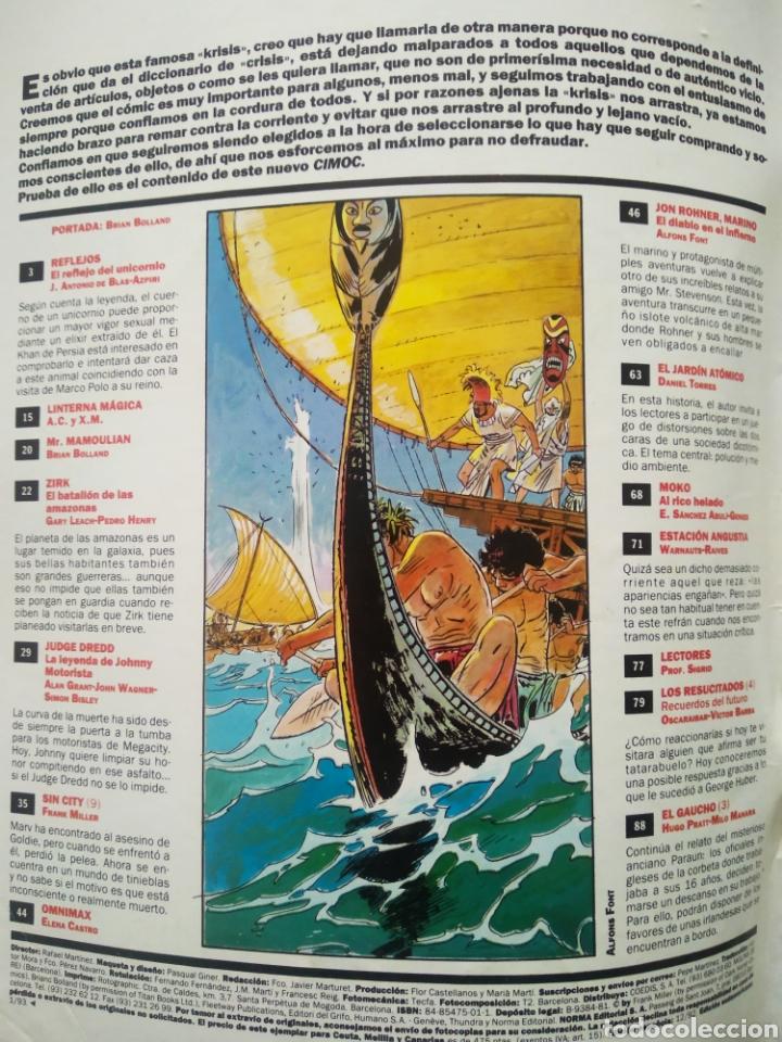Cómics: Cimoc n°142 (Norma, 1992). 100 páginas a color y B/N. 9 historias completas. - Foto 2 - 236394475