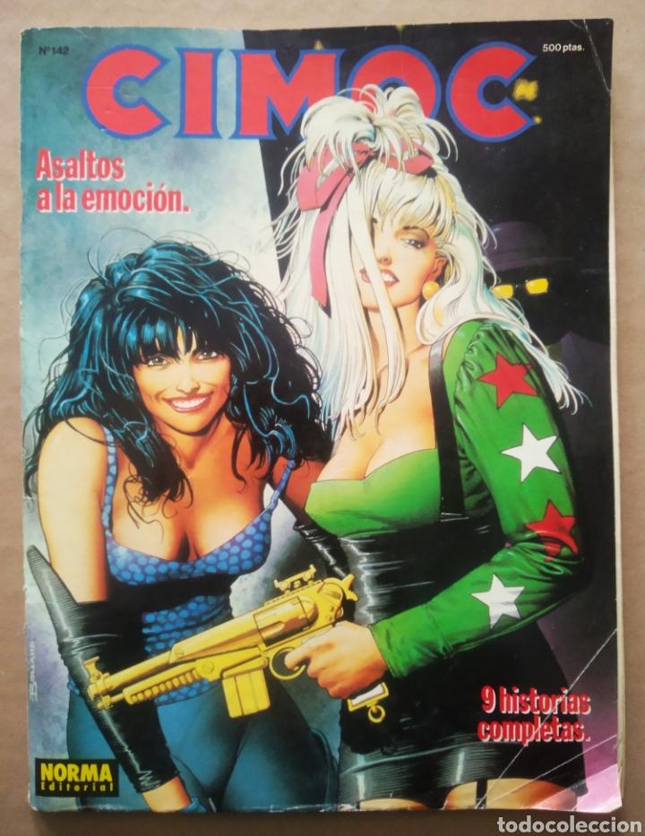 CIMOC N°142 (NORMA, 1992). 100 PÁGINAS A COLOR Y B/N. 9 HISTORIAS COMPLETAS. (Tebeos y Comics - Norma - Cimoc)