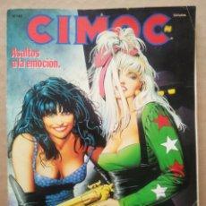 Cómics: CIMOC N°142 (NORMA, 1992). 100 PÁGINAS A COLOR Y B/N. 9 HISTORIAS COMPLETAS.. Lote 236394475
