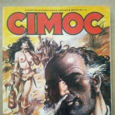 Cómics: CIMOC N°116: LA REVISTA DE LAS GRANDES SERIES DE AVENTURAS (NORMA, 1990). 84 PÁGINAS A COLOR Y B/N.. Lote 236396310
