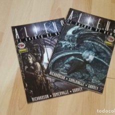 Comics : ALIENS: EL CUENTO DE NEWT. COMPLETA.(2 NºS)COLECCIÓN MADE IN USA. NORMA. Lote 236597165